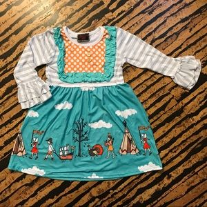 Other - Thanksgiving toddler dress